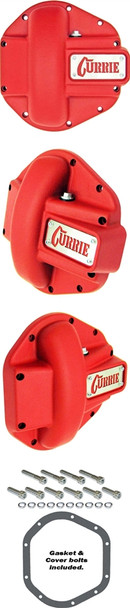 Currie Enterprises Dana 44 Cast Cover - Textured Red