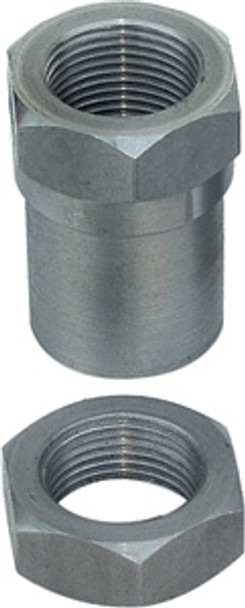 Currie Enterprises Threaded Bung W/Jam Nut - 1.0-14 RH Thread - SET