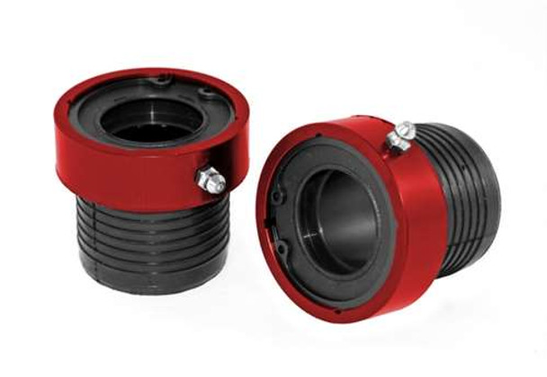 Alloy USA Seal Axle Tube Pair for D30/44 Red 1