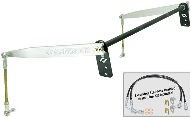 Rock Jock 4x4 JK 2D Antirock® Rear Sway Bar Kit (Aluminum Arms) - CE-9900JKRA
