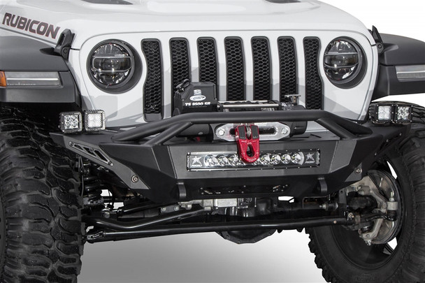 ADDICTIVE DESERT DESIGNS | 2018 JEEP WRANGLER JL STEALTH FIGHTER WINCH FRONT BUMPER - F961232080103
