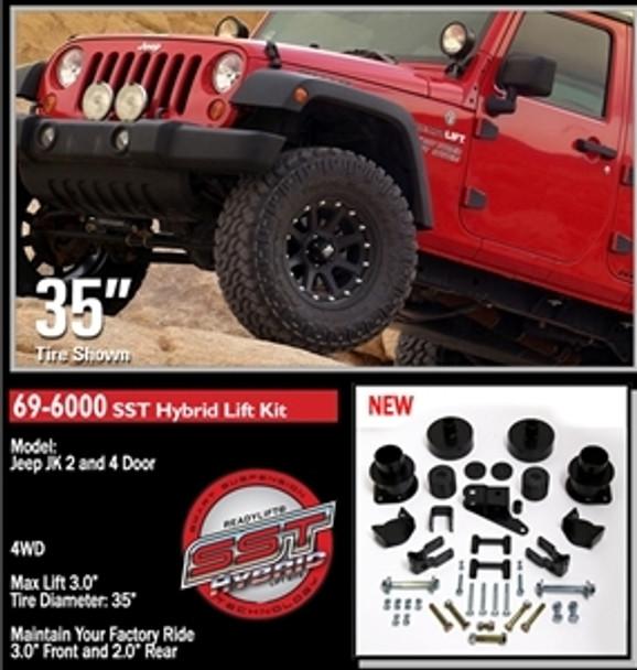 "2007-2011 JK ReadyLift SST 3"" Lift Kit"