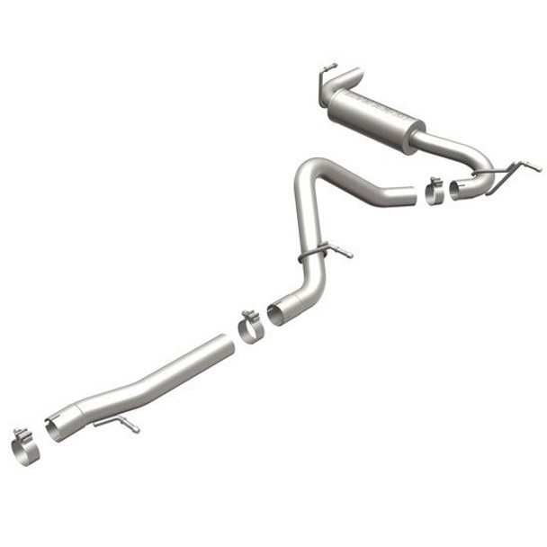 Magnaflow Performance Competition Series Cat-Back Exhaust System V6 3.6L; 2 Dr Competition Series; EXCL. MODELS WITH PLASTIC REAR FASCIA; SINGLE STRAIGHT PASSENGER SIDE REAR EXIT