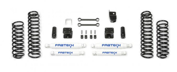 "FABTECH 3"" Budget System w/ Performance Shocks - 2007-14 Jeep JK (2 Door) 4WD"