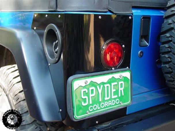 Poison Spyder Jeep TJ Rear Trail Corners