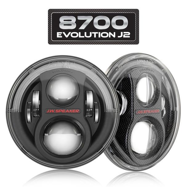 JW SPEAKER - 8700 EVOLUTION J2 LED HEADLIGHTS