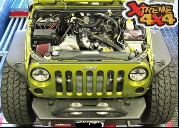 RIPP 2007-2011 Gen2 Jeep Wrangler JK Supercharger Kit V3 Si-Trim Stage 2 Intercooler