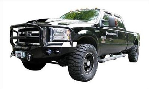 Road Armor Front Stealth Winch Bumper, Lonestar Guard, Satin Black 15