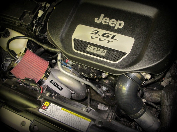 RIPP 2012-2014 Jeep JK 3.6L V6 RIPP Supercharger Kit Intercooled (Automatic Transmission)