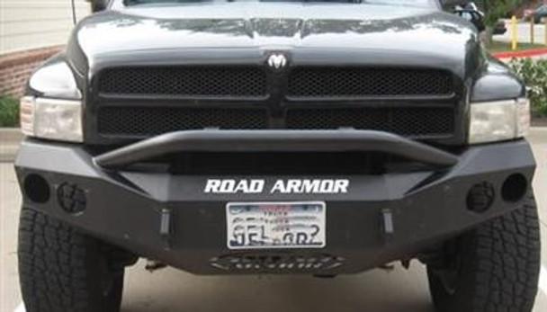 Road Armor Front Stealth Winch Bumper, Pre-Runner Guard, Satin Black 14