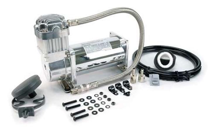 VIAIR 350C Chrome Compressor Kit (100% Duty, Sealed)