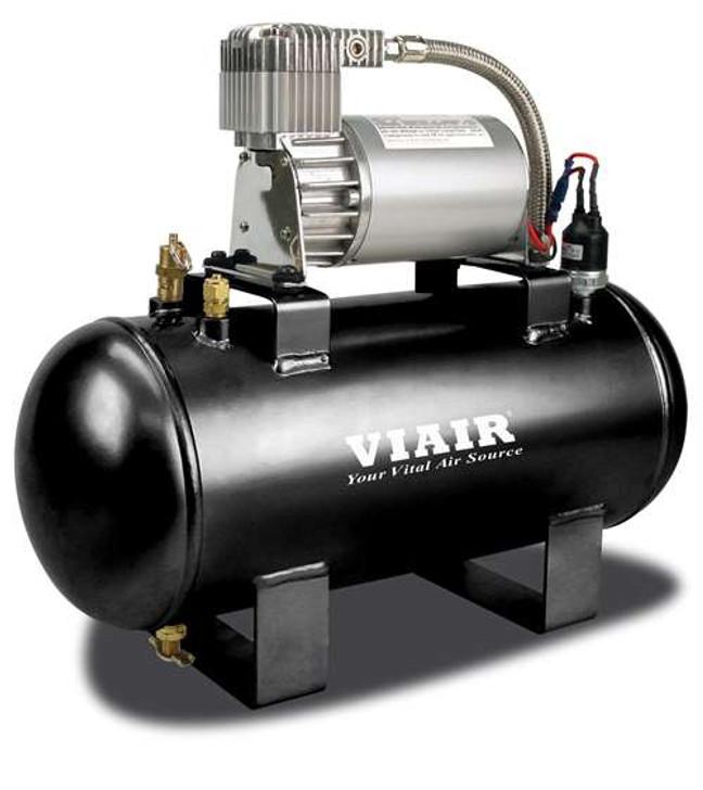 VIAIR 1.5 Gal. Tank Air Source Kit Fast Fill-120 (120 Psi Compressor, 12V)