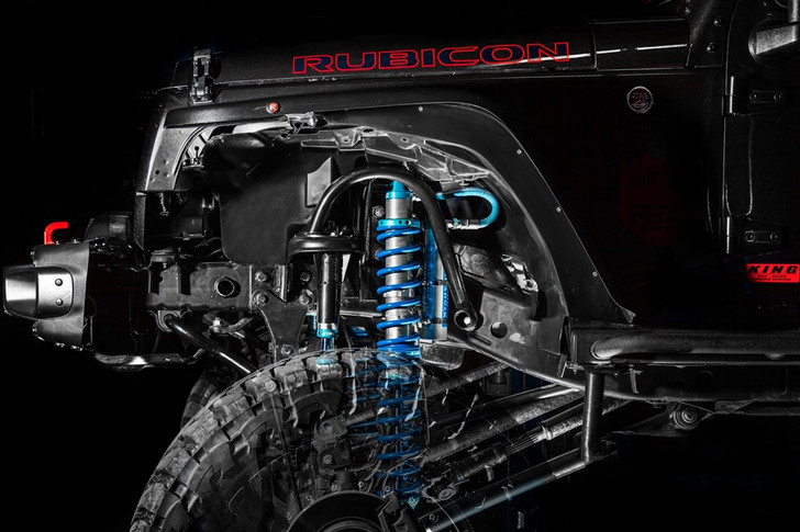 """Recon Front 2.5 12"""" Coilover Kit with Bumpstops 2007-2018 Jeep JK"""