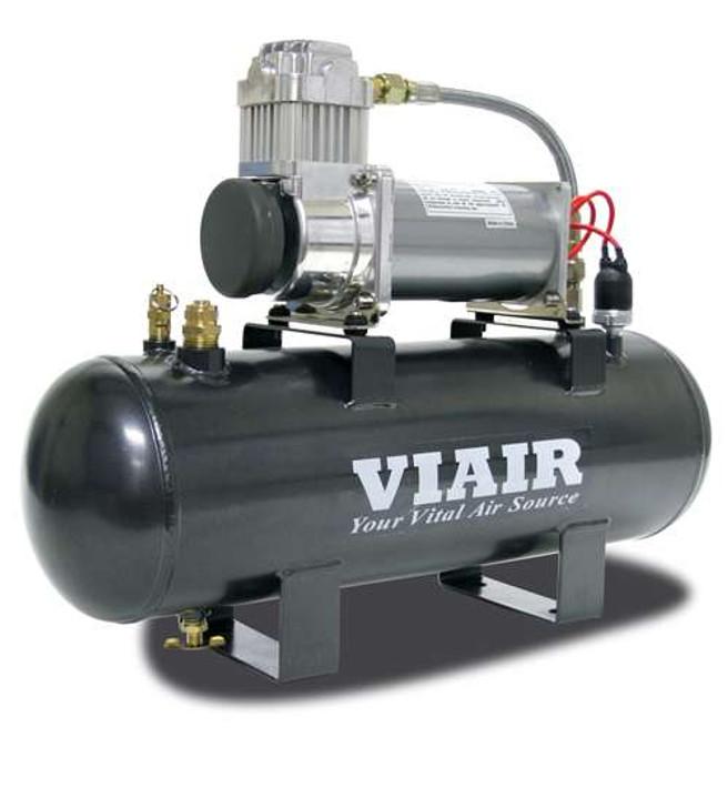 VIAIR 200 Psi 2.0 Gal. Tank Fast-Fill-200 Air Source Kit (200 Psi Compressor, 12V)