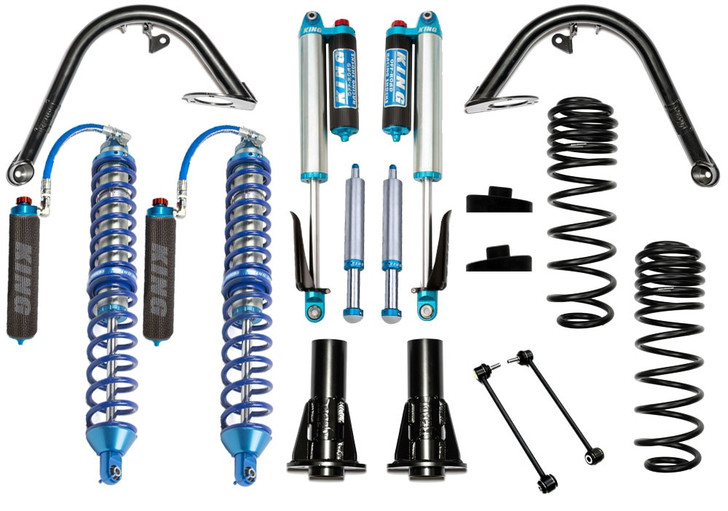 """Recon Complete Jeep Wrangler JL 4.5"""" Overland Stage 1 Kit"""