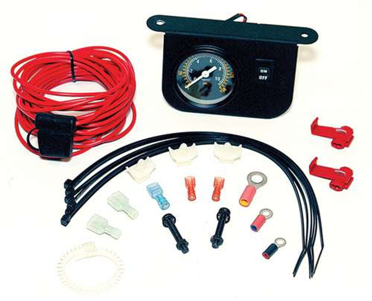 VIAIR Illuminated Dash Panel Gauge Kit (30 Amp)