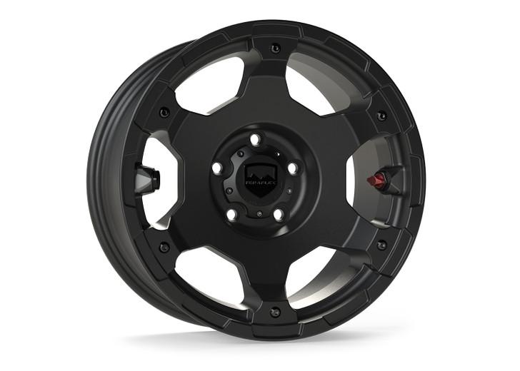 "Teraflex Nomad Off-Road Wheel – Base – 5x5"" – Metallic Black – Each - 1056050"