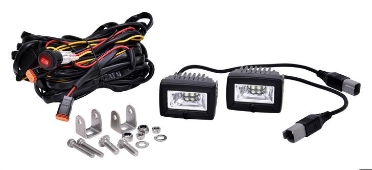 "KC HiliTES 2"" C-Series C2 LED Area Flood Light System - #328"
