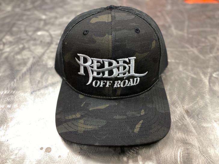 Rebel Multicam Trail Leader 3.0 Snapback Hat