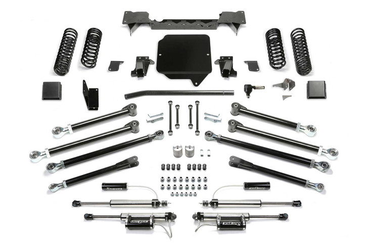 Fabtech 5″ Crawler Lift Kit w/ Dirt Logic 2.25 Resi Shocks – K4178DL