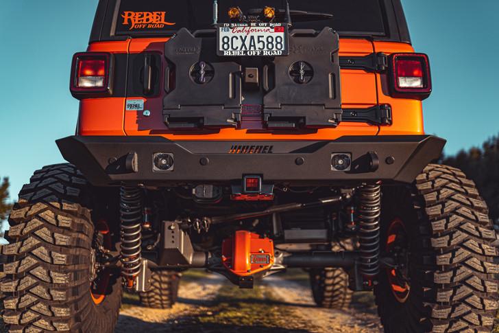 Rebel Off Road Summit Series Rear Bumper JL - ROE-JL-RB-B01