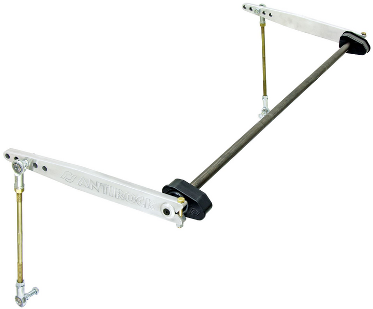 Rock Jock 4x4 Antirock JL Rear Sway Bar Kit - Aluminum Arms - CE-9900JLR4A