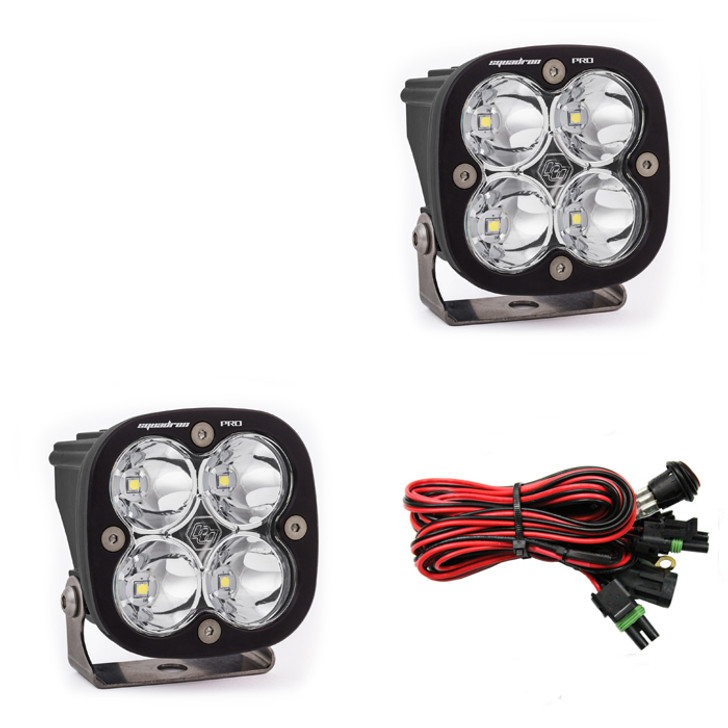Baja Designs Squadron Pro, Pair Spot LED