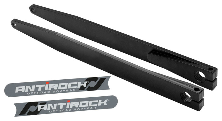 "Rock Jock 4x4 RJ-232200-101 - Antirock® Sway Bar Bent Fabricated Steel Arms (21"")"