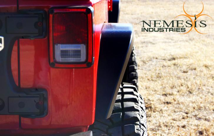 Nemesis Industries JK-JKU Notorious Dovetail Rear Flare - 1265