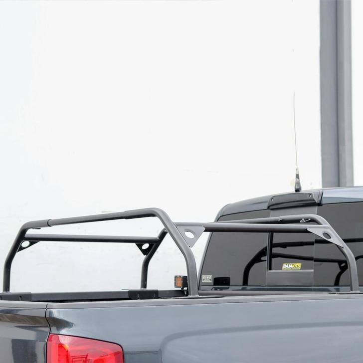 "Tuff Stuff® Overland Roof Top Tent Truck Bed Rack, Adjustable, Powder Coated 40"" - TS-UBR-PDR-40"