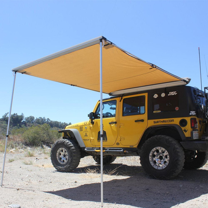 Tuff Stuff® Overland Roof Top Awning 6.5′ x 8' - TS-AWN-RT-6.5