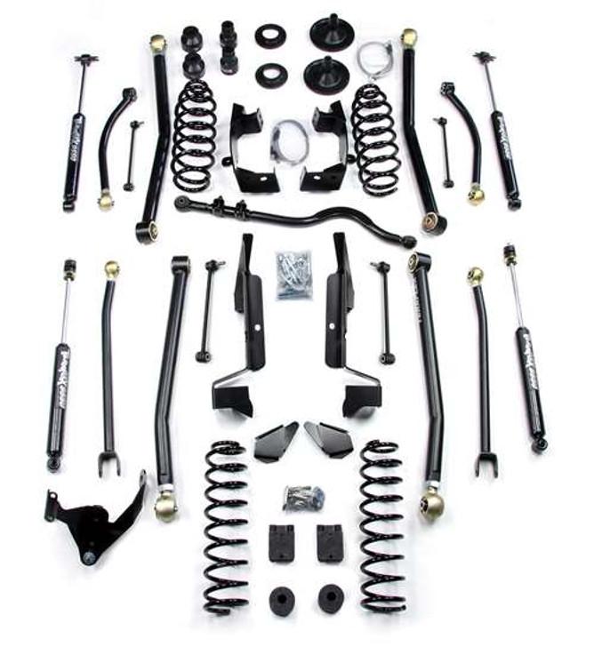 "TeraFlex JK 2 Door 4"" Elite LCG Long FlexArm Lift Kit w/ 9550 Shocks"