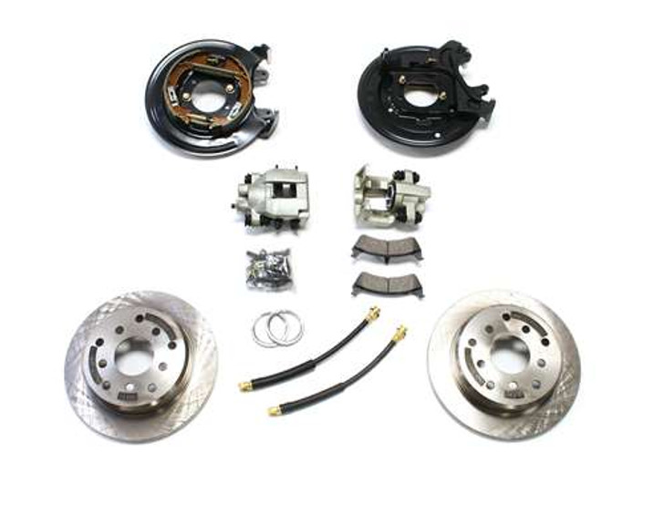 1987-1990 YJ / 1984-1988 XJ Rear Disc Brake Conversion Kit
