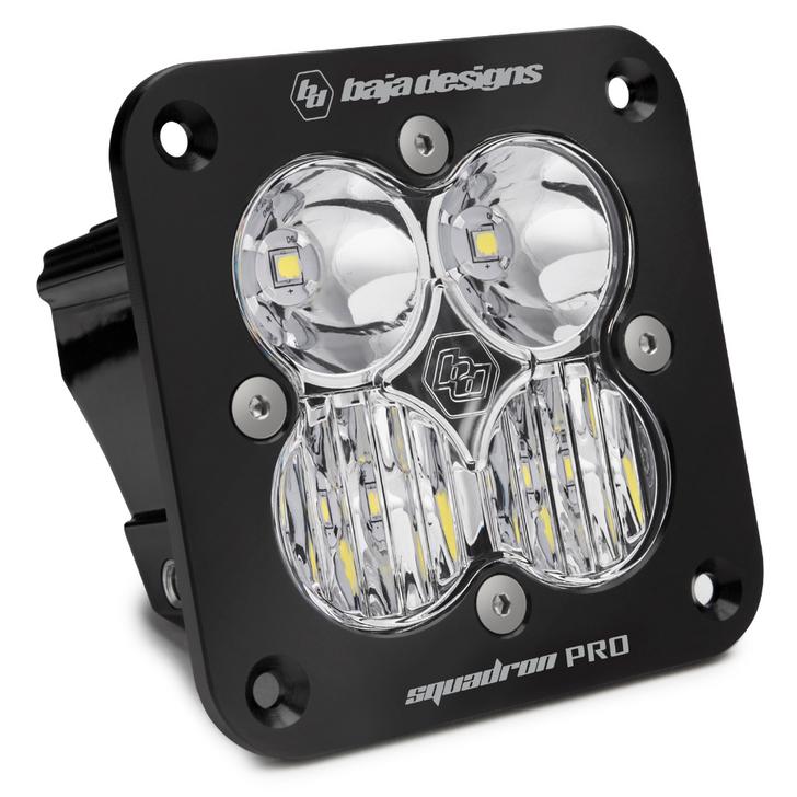 Baja Designs Squadron Pro, LED Driving, Flush Mount - 49-1003