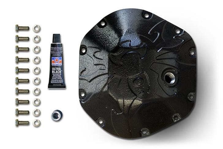 Poison Spyder Bombshell Diff Cover - Dana 44 -Black PC