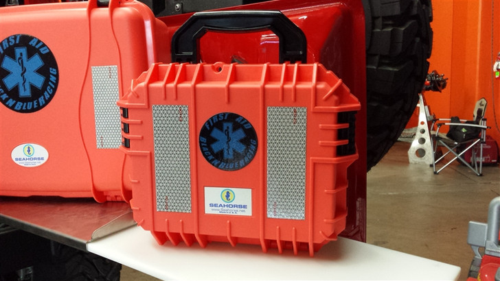 Black N Blue Racing First Aid Kit - Medium Size