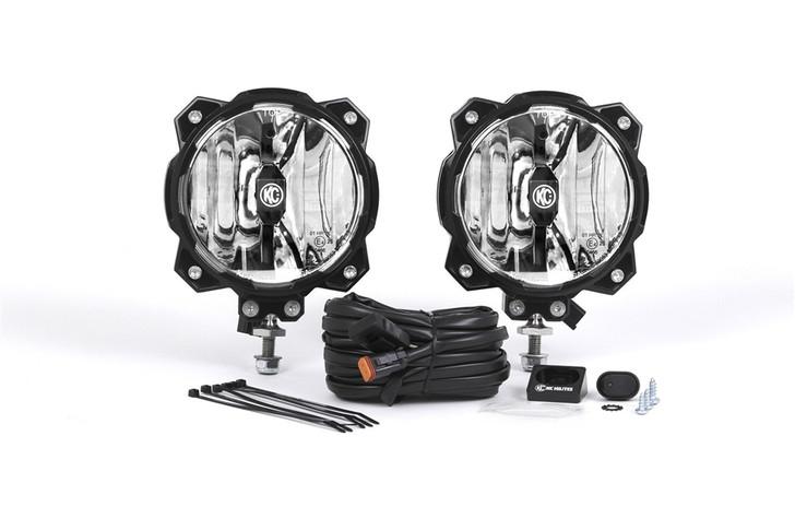 KC Hilites Gravity LED Pro6 Single Pair Pack System