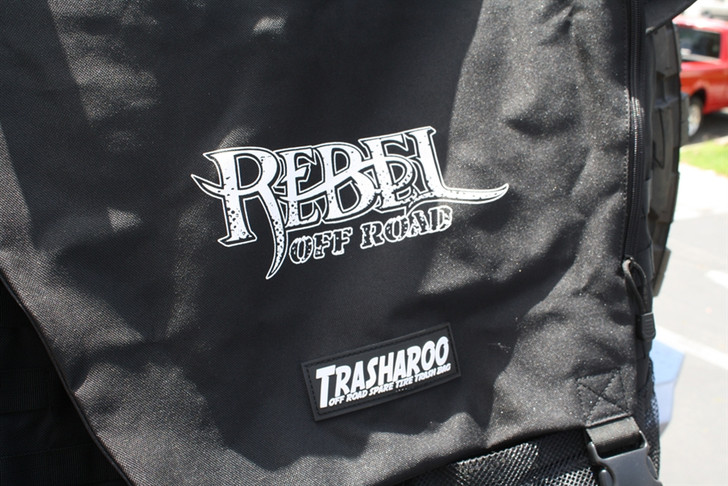 Trasharoo Spare Tire Trash Bag (BLACK) Rebel Off Road Edition