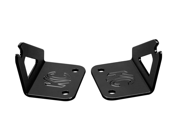 "Jeep JK Hood Mount Bracket Set For 30"" LED 07-18 - KD Hilites #7324"