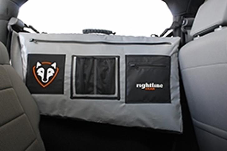 Rightline Side Storage Bag for Jeep JK 2-Door (Gray) - 100J74