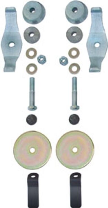 Currie Enterprises Rear Spring Retainer Kit - For JK