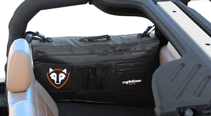 Rightline Side Storage Bag for Jeep JK 2-Door (Black) - 100J74-B