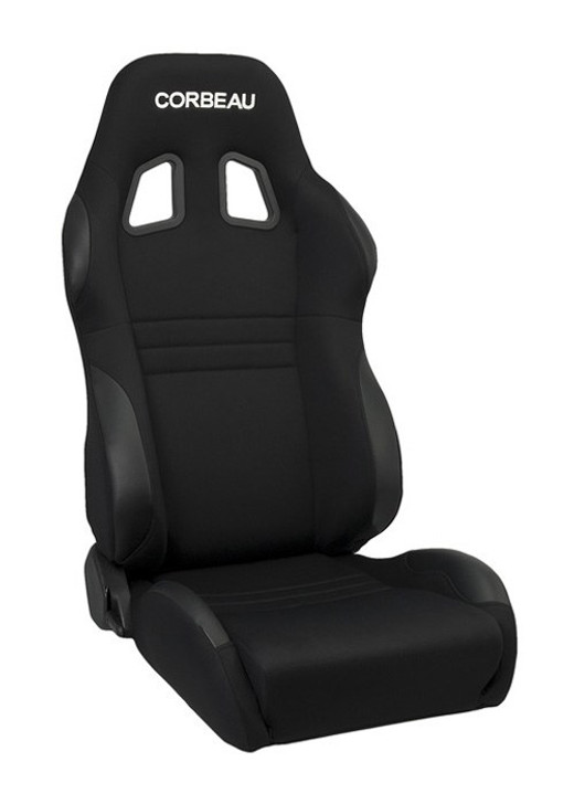 The A4 is the perfect adjustable racing seat for tight spaces and minimal headroom applications. Whether on the street, the track, or off-road, the A4 racing seat will enhance your overall driving experience. As a rule of thumb, the A4 will fit up to a 34-36 inch waist while the A4 Wide will fit up to a 38-40 inch waist. High wear patches are strategically placed to protect your seat from abuse in the high wear areas. The A4 racing seat is available in cloth, with leatherette high wear patches, microsuede, with leather high wear patches, and 100% black leather.