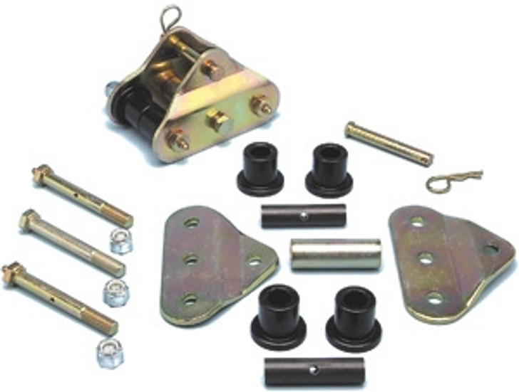 Currie Enterprises 87-95 Front HD Shackles W/Tow Bar Att. For Pro Comp