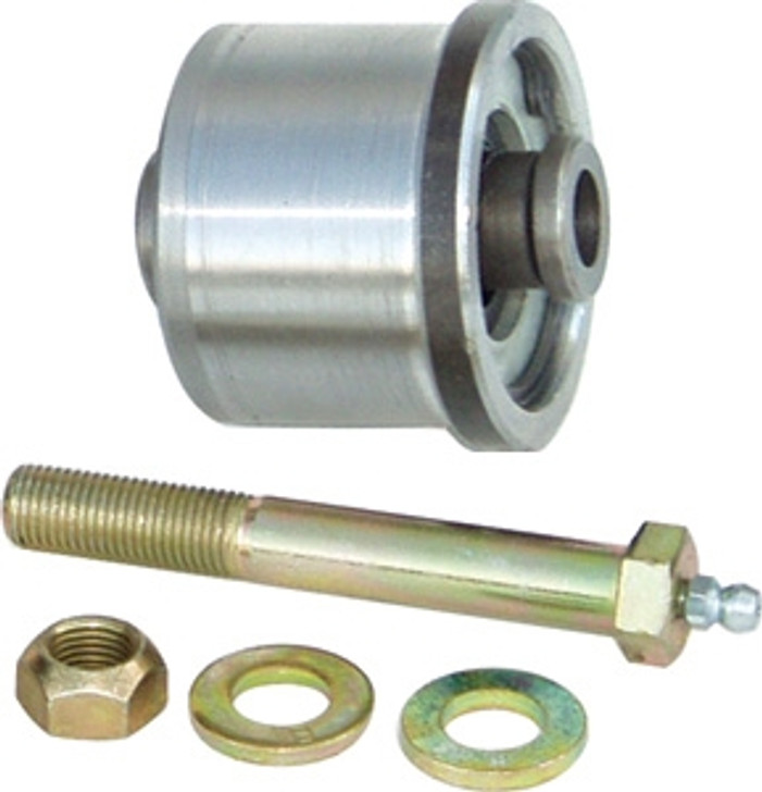 Currie Enterprises 2 Inch Johnny Joint (Barrel Style) W/ 7/16 Grease Bolt - With Machined Sleeve For CE - 9102K