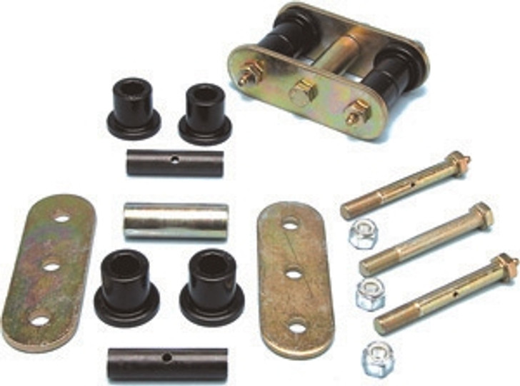 Currie Enterprises - 87-95 Front HD Shackles w/o Tow Bar Attachment