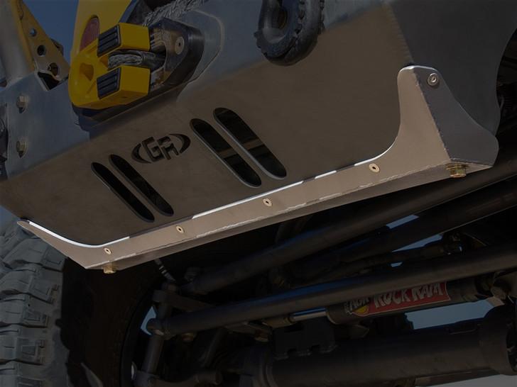 GenRight Rash Guard for the JK Aluminum Front Bumper