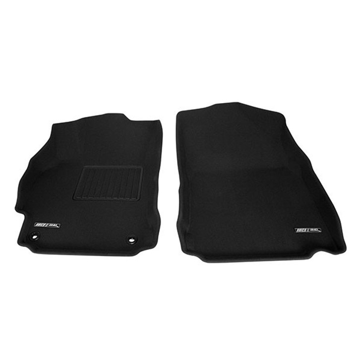Protecting your vehicle's floors with all-weather floor mats doesn't mean sacrificing your interior's looks. With Aries 3D Floor Liners, the look of your front and back seat is not only clean, but enhanced. They provide you with the durable protection of all-weather rubber floor mats without the rugged styling. And, your original carpets stay looking brand new if you sell your car later on.With an innovative, three-layer structure, Aries 3D luxury rubber floor mats block out sound and vibration from your floor while repelling water, dirt and spilled coffee. For added safety, the bottom layer prevents your Aries 3D floor mats from sliding around.Perfect for your front and back seat, your floor mats are custom fit for your specific vehicle. No matter what color interior you chose at the dealership, Aries 3D rubber floor mats are available in several different colors to coordinate with your vehicles interior. Your Aries floor mats are backed by a 3-year warranty.The revolutionary, sleek design of Aries 3D Floor Liners is custom molded for your specific vehicleAvailable in several color options to coordinate with any interiorMade up of three distinct layersFirst layer is TPR (thermoplastic rubber) for strong, durable, wear-resistant and waterproof protectionMiddle layer is XPE making your mats sound insulating, shock absorbent and thermostaticBottom layer is made up of Patented Maxpider Fibers that grip all carpet types to prevent movingAries Liners keep your factory carpet clean for a higher resale value down the roadSimple to install—just drop in, align and attachFront, rear and cargo liners are available for most modelsYour Aries 3D Floor Lines are backed by a 3-year warranty