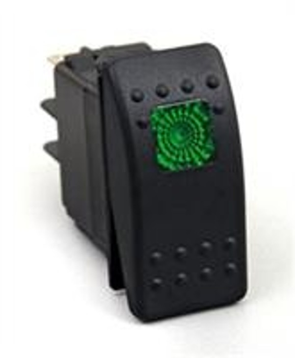 * 12 Volt * 3-Pole * 20 Amp * come in four separate lighted colors Designed for use with Daystar's Switch Panels, these OE-quality rocker switches can handle the switching duties of most aftermarket accessories. They feature a 20-amp marine-grade 3-pole design that are illuminated in one of four colors: Red, Green, Blue, and Amber. They also fit selected switch blanks present on some OE dashes.