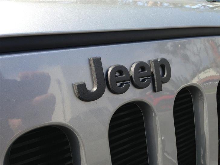 Rebel Off Road Jeep Black Grille Emblem
